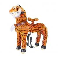 China Rocking Tiger Amusement Park Equipment Mechanical Pony Kid Ridding On Walking Animal wholesale