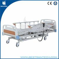 China ABS Headboard / Footboard Electric Hospital Beds Individual Brakes Remote Control wholesale