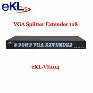 China 8 Port VGA Splitter Extender extender to  200m/300m on sale