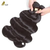 Buy cheap Indian Hair Bundles with Closure Unprocessed Virgin Hair Body Wave Extensions from wholesalers