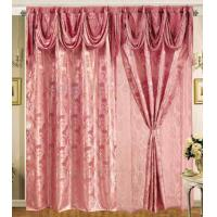China gold luxury hotel used metallic window curtains, gloden metallic cloth on sale