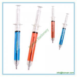 China novelty syringe pen,promotional syringe pen,syringe shape pen wholesale