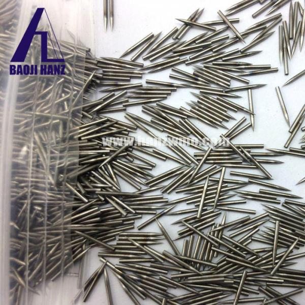 Quality exporter sintered sharpened tungsten needle tungsten components for welding industry for sale