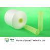China 100% Virgin Polyester Ring Spun Yarn / Dope Dyed Tube Yarn Crease Resistant wholesale
