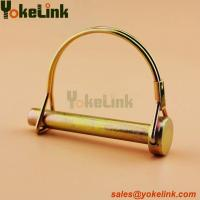 China High quality Zinc Plated Carbon Steel Double Wire Lock Safty Pin wholesale
