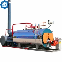 Buy cheap Steam Capacity 1ton, 2ton, 3ton Industrial Gas Oil Fired Packaged Steam Boiler from wholesalers