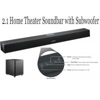 Buy cheap 2.1 Channel TV Soundbar With Subwoofer , Speaker Sound Bar For Game / Movie from wholesalers