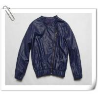 China Womens PU Leather Jackets on sale