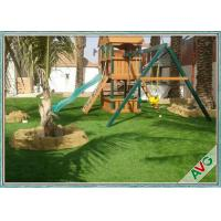 China Easy Install Outdoor Artificial Grass , Garden Artificial Grass Turf For Dogs wholesale