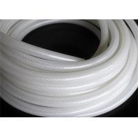 China Fiber Braided Reinforced Silicone Hose / Medical Grade Braided Flexible Hose wholesale