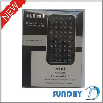 Quality Support SONY PS3,IPAD,iPHONEmini bluetooth keyboard for sale