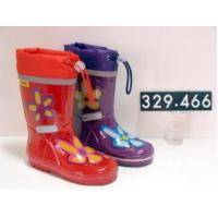 China kids rubber rain boots on sale