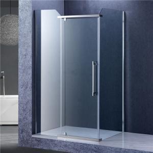 China Bathroom Rectangular Shower Enclosure , 3 Panels Glass Shower Cubicles on sale