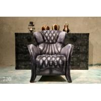 China antique leather chair furniture,#720 wholesale