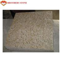 China G682 Rusty Yellow Stone Misty Yellow Granite Floor Tile for Pavement on sale