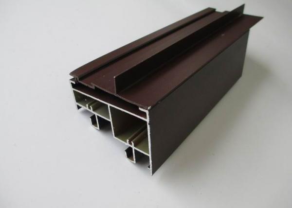 Quality Exterior Thermal Break Aluminium Door and Window Frames For Glass Sliding Door / Solar Panel Frames for sale