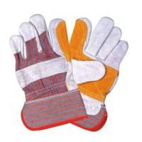 China Cow grain leather gloves wholesale