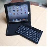 China Split Bluetooth Keyboard Silicone Case for iPad 2 for The New iPad (CS-BV12) on sale