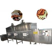 China Tunnel Belt Microwave Industrial Food Dryer 80 KW 380v For Seafood Drying wholesale