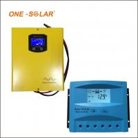 China 10A 20A 30A Solar Charger Controller , 12v 24v auto LCD screen PWM solar charger wholesale