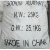 China Sodium Aluminate , Sodium Mataaluminate For Concrete Engineering wholesale