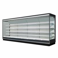 China 5 Adjustable Shelves Supermarket Refrigeration Equipment For Dairy And Food Merchandising on sale