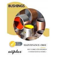 China Metric Size Dry Sliding Bearings , Self Lube Bushings With Long Life Time on sale