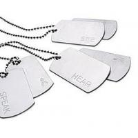 China Fashion Aluminum Dog Tag with Plastic Rubber wholesale