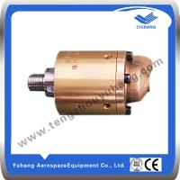 China High Speed Brass Rotary Joint,High Pressure Brass Swivel Joint,Hydraulic Rotary Union wholesale