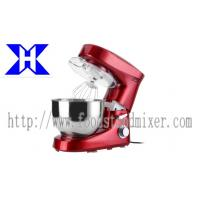 China 1200w Spray Red Kitchen Dough Mixer Machine For Home , 6L Mixing Bowl wholesale