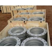 China Stainless Steel Welded Vacuum Pipes Fittings Flange with Bolt Hole wholesale