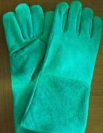 China Cow split leather welding gloves wholesale