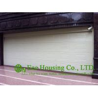 China 8.2m Wide Galvanized steel Garage Door For Apartments, White ColorSandwich panels wholesale