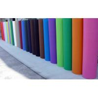 China Aging Resistance PET Spunbond Nonwoven Fabric for Textile many color on sale