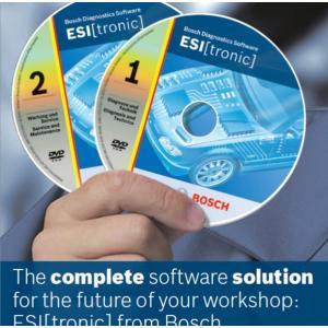 China Bosch ESI Tronic 2014.1 Automotive Diagnostic Software For Auto Code Reader wholesale