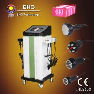 China 4 in 1 lipo laser cavitation rf vacuum fat removal machine wholesale