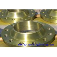 China CuNi10Fe 1.6mn  #300 6 Weld Neck Flange ASTM B466 UNS C70600 wholesale