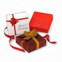 China Gift Boxes, Suitable for Advertising Purposes, Made of Gray Board, Available with Printing wholesale