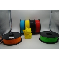 China 3D Printer PLA Color Changing Filament 1.75MM / 3.0MM White to Blue wholesale