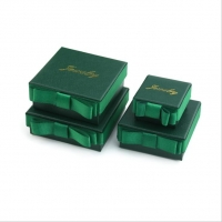 China Corrugated Board Debossed Jewelry Recycled Paper Gift Boxes wholesale