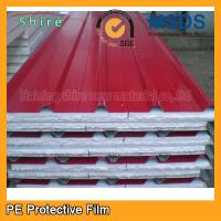 China Transparent PE Protective Film For Pre Painted Metals / Sandwich Panel 180 - 200g wholesale