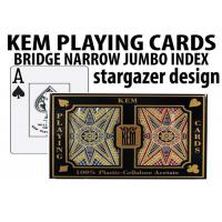 China Advanced KEM Stargazer Invisible Ink Marked Card Decks For Cheating Poker Games wholesale