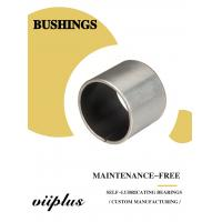 China Stainless Steel Ptfe / Kevlar Fabric Lined Split 316 Composite Bearings Flanged Bushes on sale