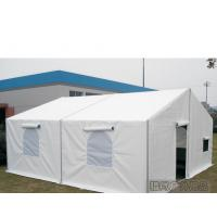 China 6m Width White Military Army Tent Waterproof Pvc Cover With Screen Windows wholesale