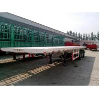 Buy cheap 12R22.5 Tire Heavy Duty Semi Trailers 12500 Mm X 2500 Mm X1550 Mm Dimensions from wholesalers
