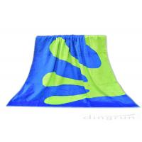 China Double Sided Custom Woven Beach Towels , 100% Cotton Beach Towels wholesale
