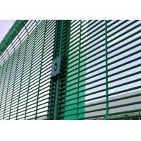 China Professional 358 Security Mesh , Metal Welded Fence Panels 76.2x12.7mm wholesale