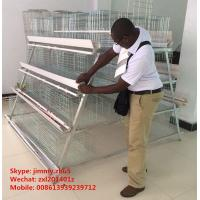China Automatic Egg Collection Equipment 3tier 4 tier 5tier A Type Poultry Farm Layer Cage Equipment on sale