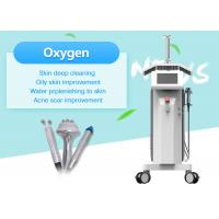 China Multifunction LED PDT Water Oxygen Beauty Machine For Facial Cleaning / Skin Whitening on sale