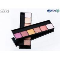 OEM ODM cosmetics 6 color eye shadow, professional makeup eyeshadow palette for sale